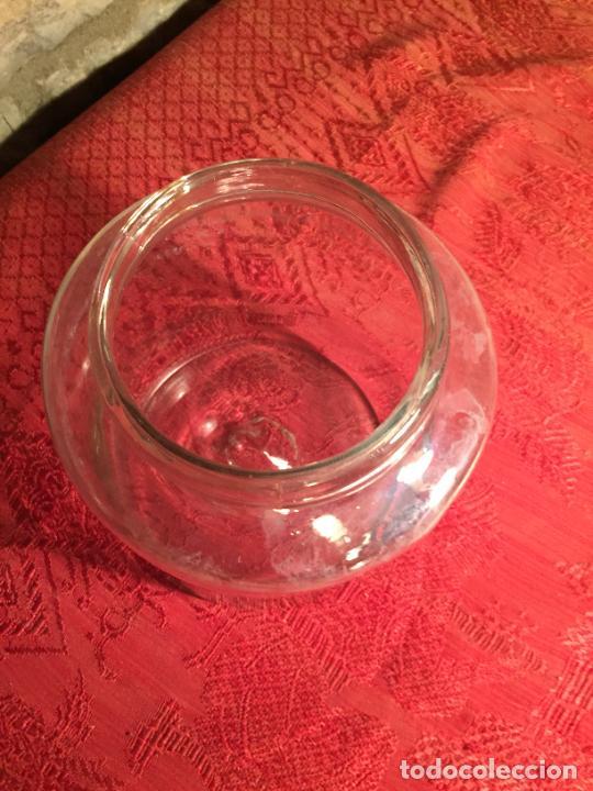 Antigüedades: Antiguos 2 bote / tarro de cristal Catalán soplado a mano del siglo XIX - Foto 20 - 236029050