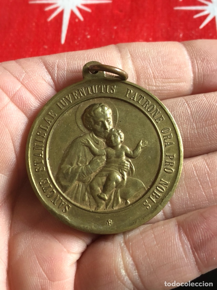 Antigüedades: Antigua medalla religiosa - Foto 2 - 236035975