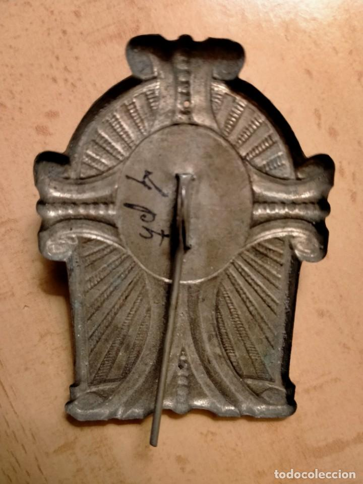 Antigüedades: PLACA JESUS DEL GRAN PODER RECUERDO DE SEVILLA - Foto 2 - 236057130