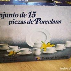 Antiquités: JUEGO MERIENDA SANTA CLARA. Lote 236058310