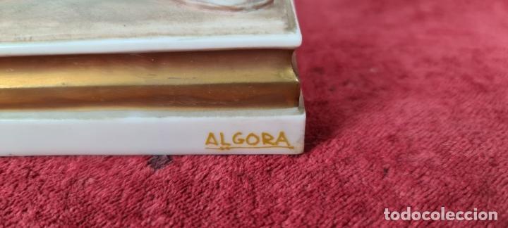 Antigüedades: ABUELO CON MOCHILA. ESCULTURA EN PORCELANA ESMALTADA. ALGORA. AHS. SIGLO XX. - Foto 17 - 236079080