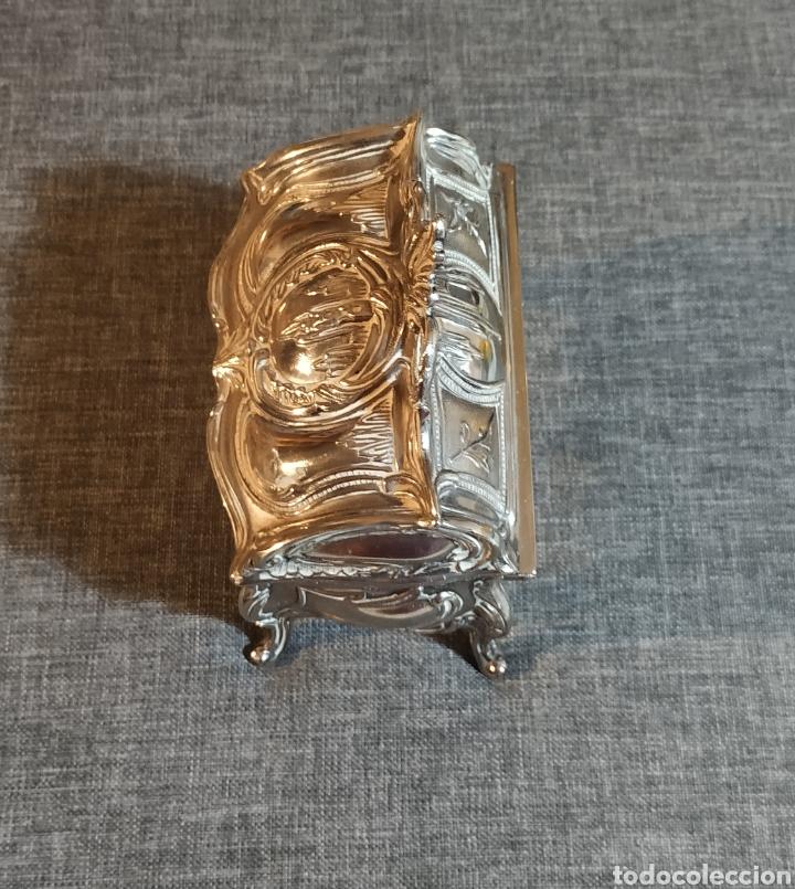 Antigüedades: Joyero de plata,Art Noveau XIX - Foto 5 - 236081160