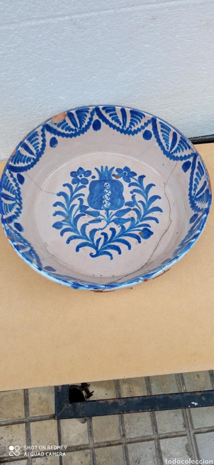 LEBRILLO DE FAJALAUZA SIGLO XIX (Antigüedades - Porcelanas y Cerámicas - Fajalauza)