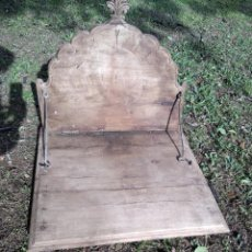 Antigüedades: MÉNSULA PLEGABLE DE MADERA. Lote 236165600
