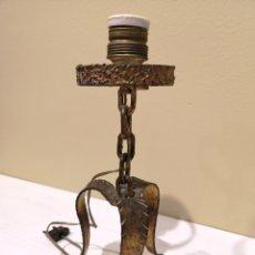 Antigüedades: PIE DE LÁMPARA. Lote 236207615
