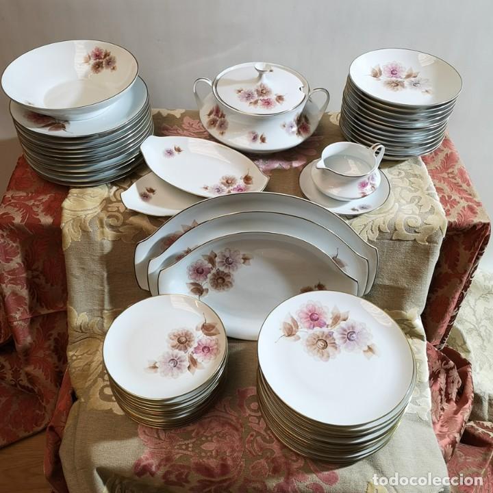 VAJILLA SANTA CLARA (Antigüedades - Porcelanas y Cerámicas - Santa Clara)