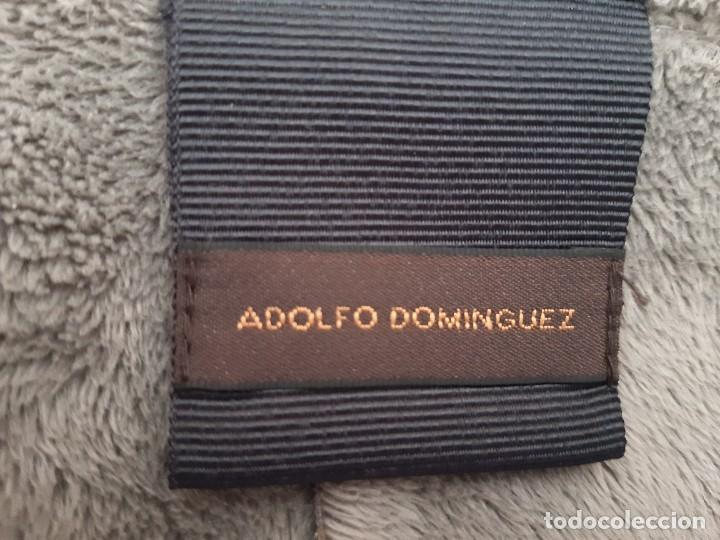 Antigüedades: BONITO ABRIGO GRIS DE ADOLFO DOMINGUEZ. TALLA 38. - Foto 8 - 236222175