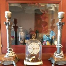 Antigüedades: LAMPARAS SOBREMESA TIPO IMPERIO. Lote 236224195