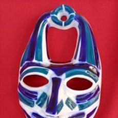 Antigüedades: MASCARA DE SARGADELOS, MIDE 20,5 CTMS DE ALTA.. Lote 236242125