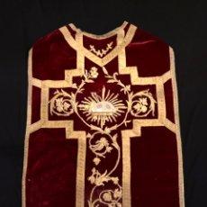 Antigüedades: BORDADOS EN ORO DE CASULLA.. Lote 236247370