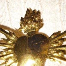 Antigüedades: CORAZÓN CON LOS 7 PUÑALES. Lote 236317390