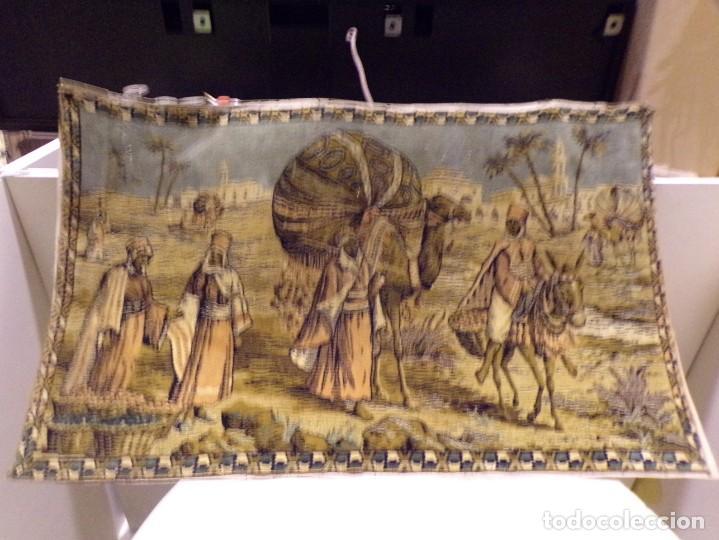 PRECIOSO ANTIGUO TAPIZ ESCENA ARABE (Antigüedades - Hogar y Decoración - Tapices Antiguos)