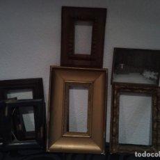 Antigüedades: LOTE 7 MARCO ANTIGUO DE MADERA MARCOS SIGLO XIX O P XX. Lote 236411565