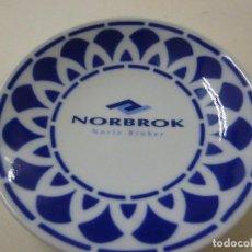 Antiguidades: PLATO DE SARGADELOS NORBROK NORTE BROKER -12 CENTIMETROS - N. Lote 236422610