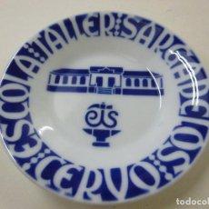 Antigüedades: PLATO DE SARGADELOS - ESCOLA TALLER DE SARGADELOS CERVO - 11, 50 CENTIMETROS - N. Lote 236422925