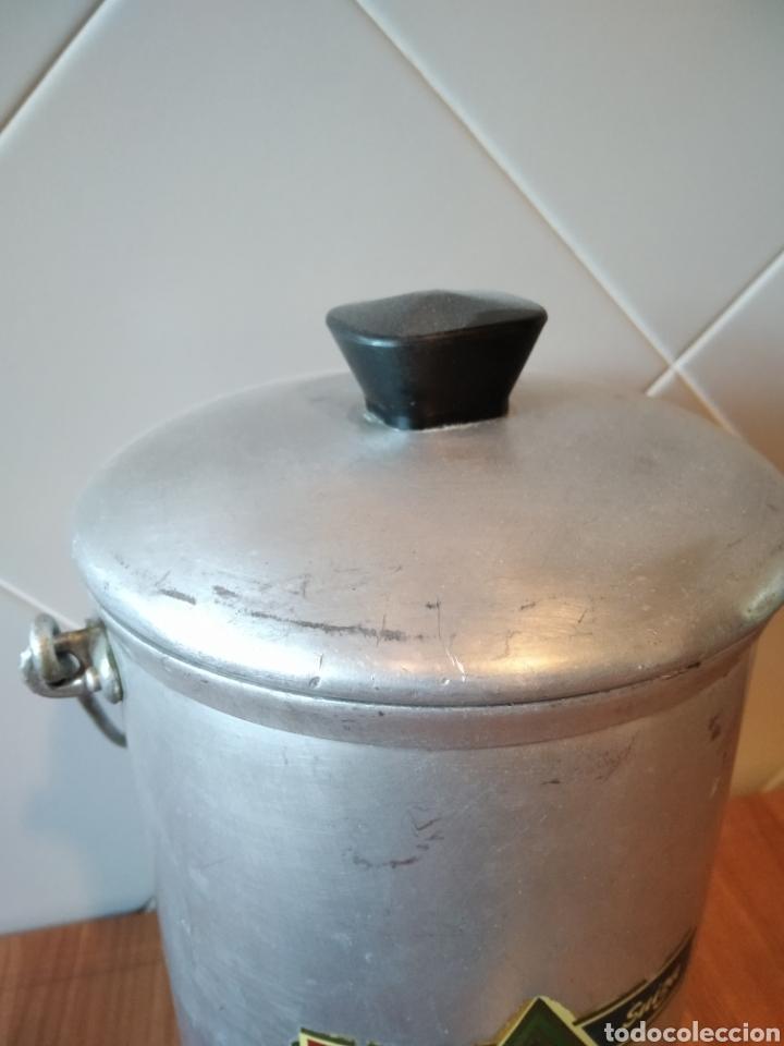 Antigüedades: Lechera Hispano Suiza antigua Aluminio - Foto 2 - 236429145