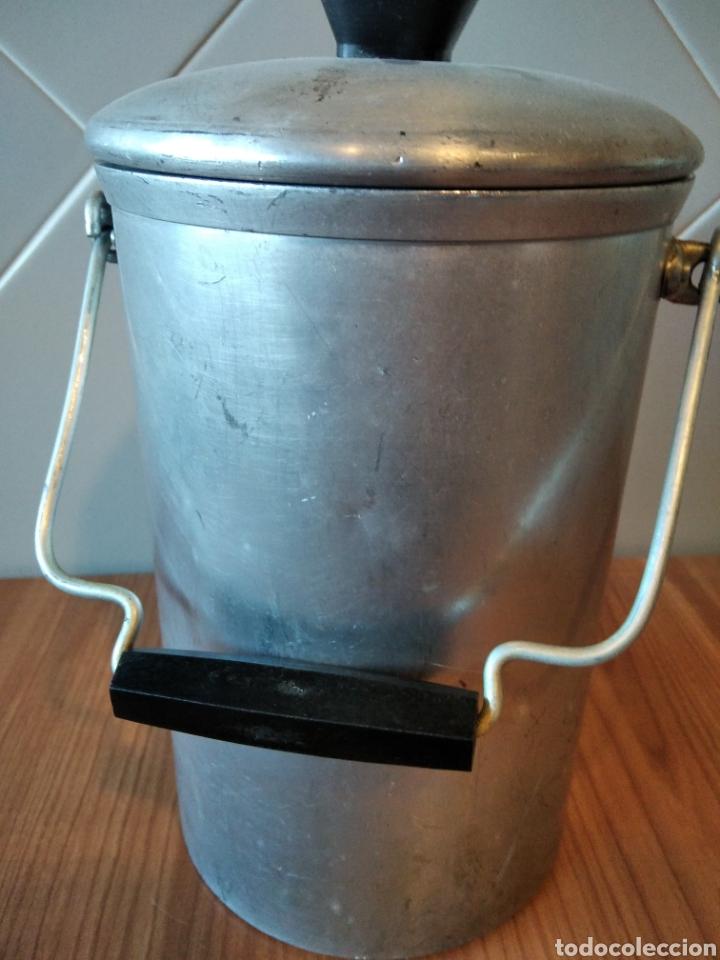 Antigüedades: Lechera Hispano Suiza antigua Aluminio - Foto 5 - 236429145