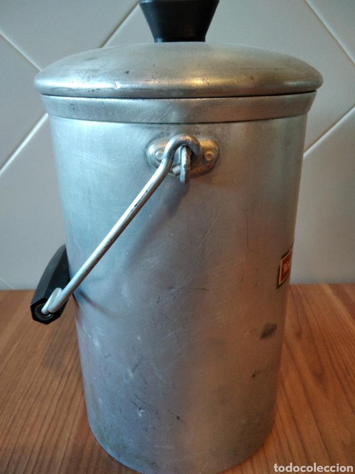 Antigüedades: Lechera Hispano Suiza antigua Aluminio - Foto 6 - 236429145