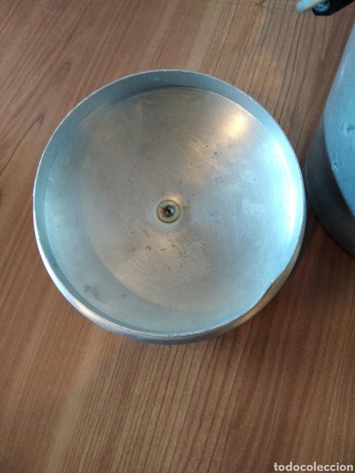 Antigüedades: Lechera Hispano Suiza antigua Aluminio - Foto 8 - 236429145