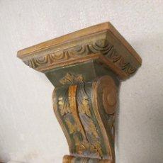 Antigüedades: MENSULA, REPISA DE MADERA. Lote 236433510