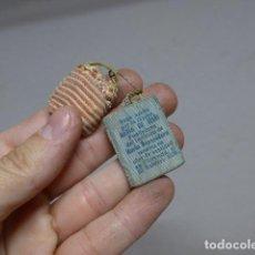 Antigüedades: ANTIGUA RELIQUIA DE ROPA USADA POR MARIA DE JESUS DE 1878, ORIGINAL. Lote 236457485