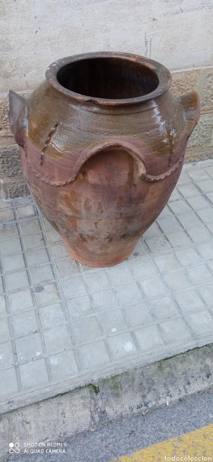 Antigüedades: Antigua orza o tinaja de guadix - Foto 2 - 236458105