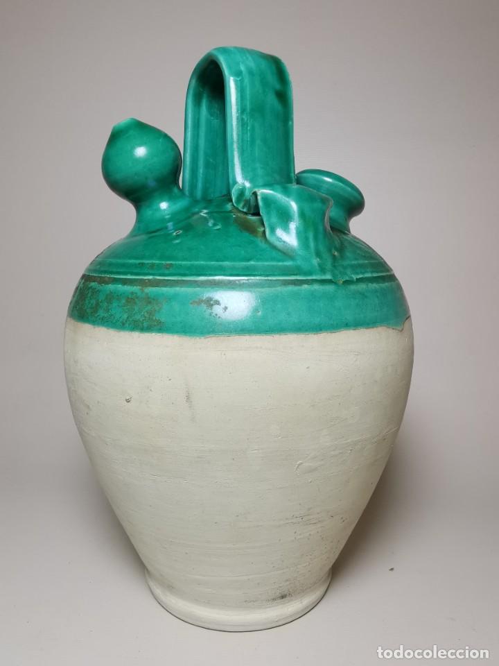 Antigüedades: ANTIGUO BOTIJO DE COLECCION-CANTIR --UBEDA -JAEN - Foto 8 - 236485090