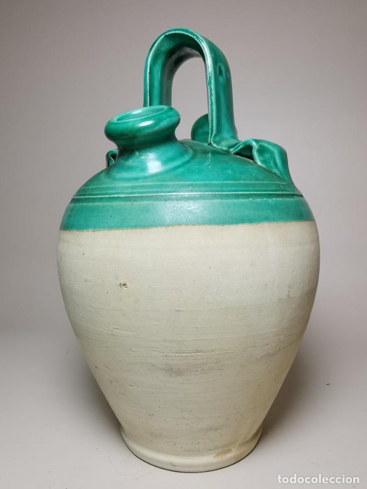 Antigüedades: ANTIGUO BOTIJO DE COLECCION-CANTIR --UBEDA -JAEN - Foto 10 - 236485090