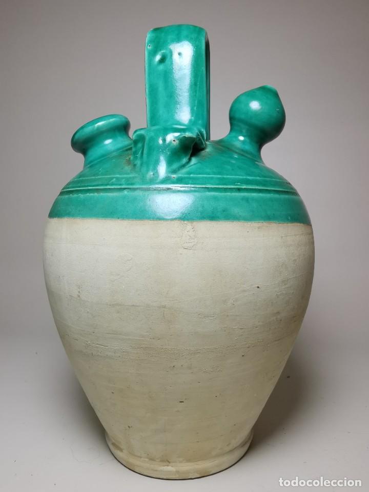Antigüedades: ANTIGUO BOTIJO DE COLECCION-CANTIR --UBEDA -JAEN - Foto 11 - 236485090