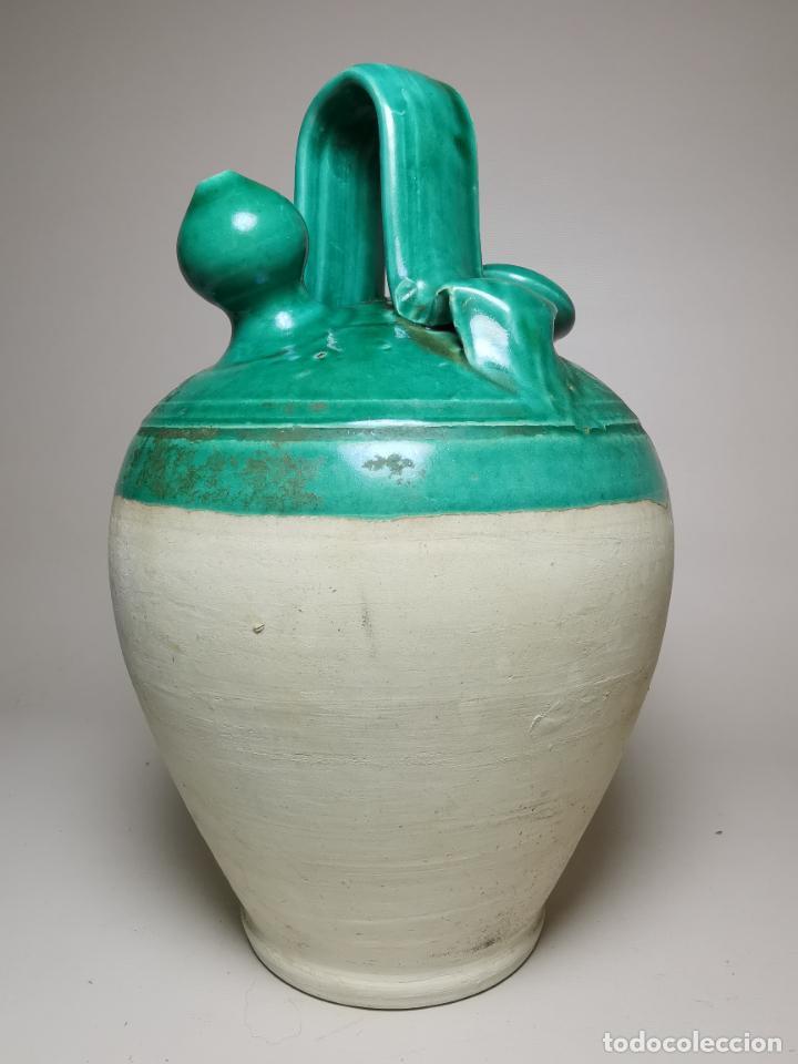 ANTIGUO BOTIJO DE COLECCION-CANTIR --UBEDA -JAEN (Antigüedades - Porcelanas y Cerámicas - Úbeda)