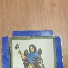 Antigüedades: RETABLO CERAMICO SAN RAFAEL. Lote 236487065
