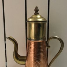 Antigüedades: TETERA DE COBRE. Lote 236497400