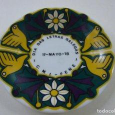 Antigüedades: PLATO DEL CASTRO DE SARGADELOS -DIA DAS LETRAS GALEGAS - 1978 - 12 CENT - N. Lote 236503840