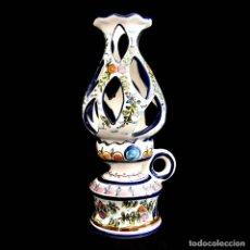 Antigüedades: EXTRAORDINARIO QUINQUE DE GRAN TAMAÑO TRABAJADO A MANO. Lote 236519570