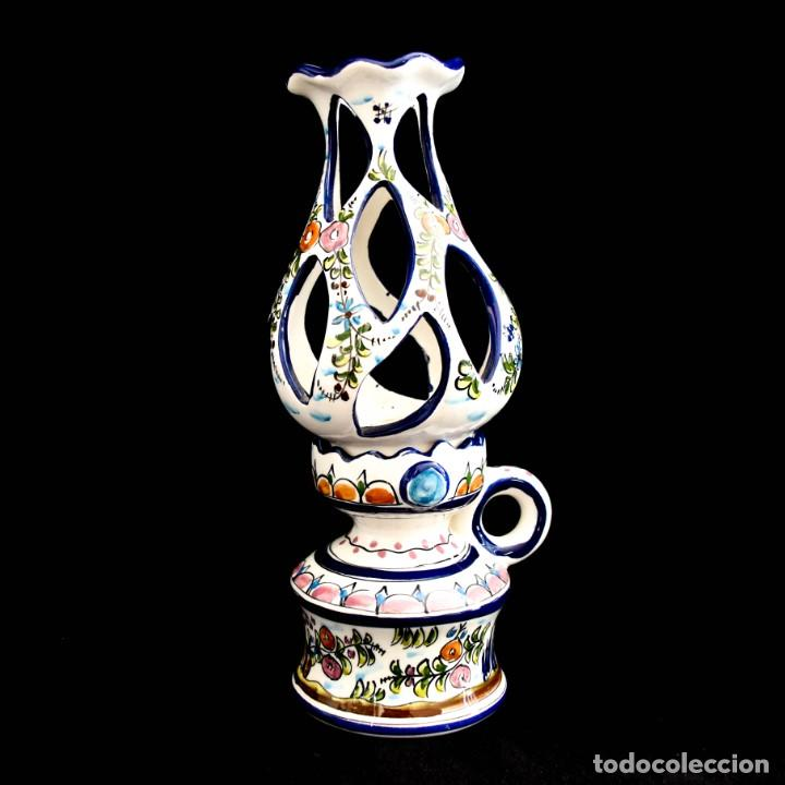 Antigüedades: Extraordinario quinque de gran tamaño trabajado a mano - Foto 2 - 236519570