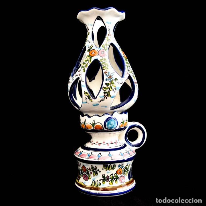 Antigüedades: Extraordinario quinque de gran tamaño trabajado a mano - Foto 3 - 236519570