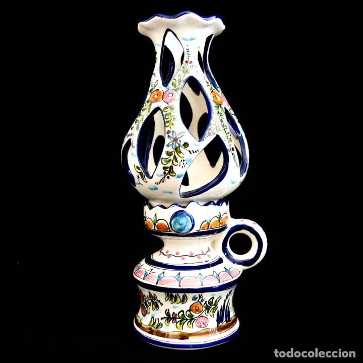 Antigüedades: Extraordinario quinque de gran tamaño trabajado a mano - Foto 4 - 236519570