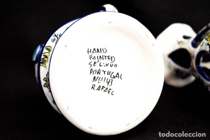 Antigüedades: Extraordinario quinque de gran tamaño trabajado a mano - Foto 9 - 236519570