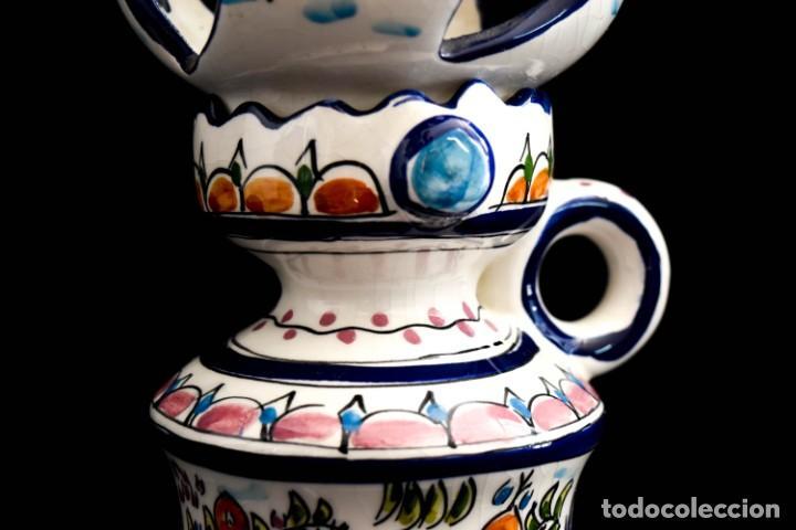 Antigüedades: Extraordinario quinque de gran tamaño trabajado a mano - Foto 18 - 236519570
