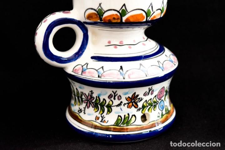 Antigüedades: Extraordinario quinque de gran tamaño trabajado a mano - Foto 24 - 236519570