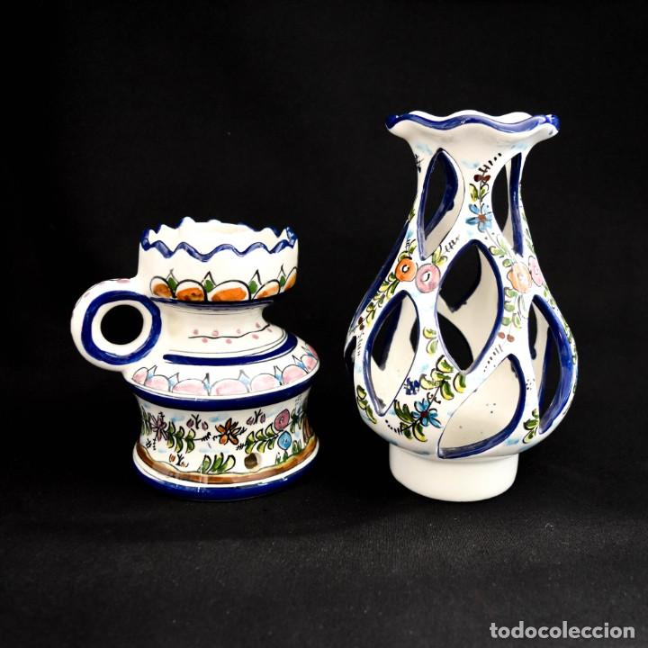 Antigüedades: Extraordinario quinque de gran tamaño trabajado a mano - Foto 25 - 236519570
