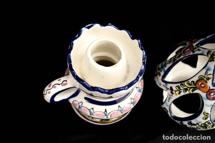 Antigüedades: Extraordinario quinque de gran tamaño trabajado a mano - Foto 26 - 236519570