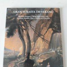 Antigüedades: CATALOGO SUBASTAS FERNANDO DURAN 1999. Lote 236529350