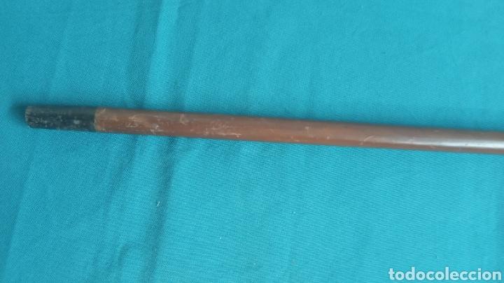 Antigüedades: Bastón antiguo plateado - Foto 3 - 236537645
