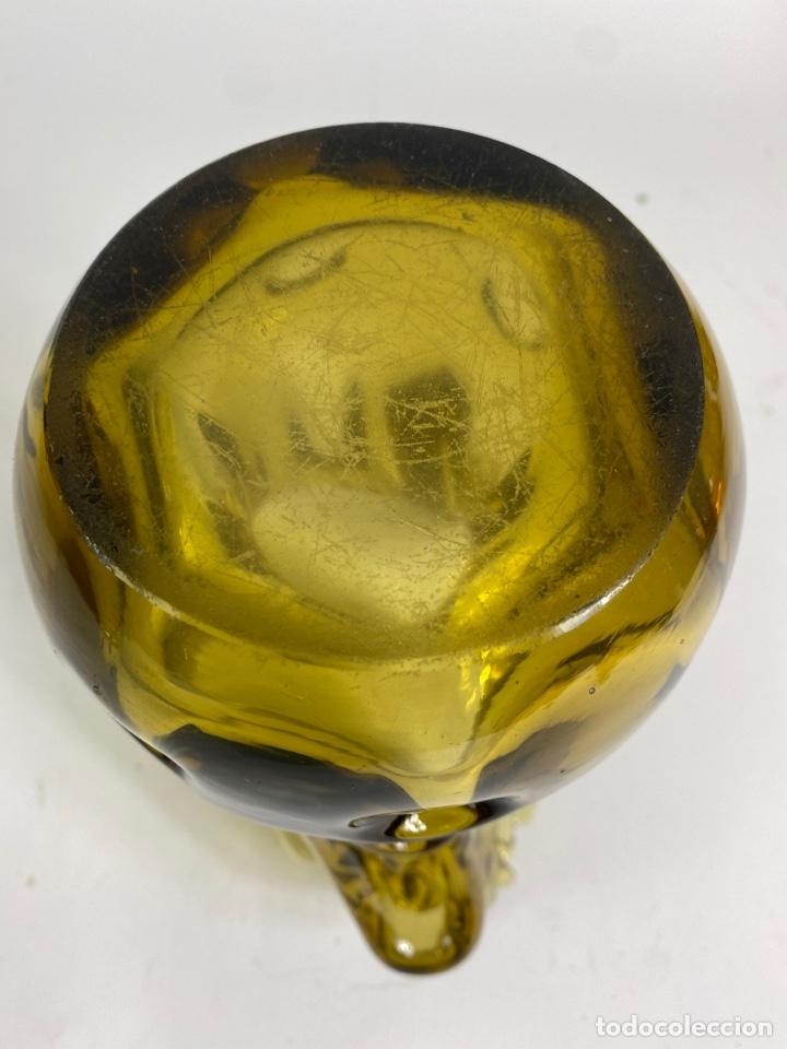 Antigüedades: JARRON DE CRISTAL DE MURANO. MEDIADOS S.XX. - Foto 4 - 236548755