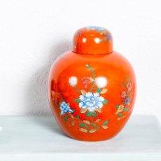 Antigüedades: JARRÓN ANTIGUO CHINO. Lote 236590080