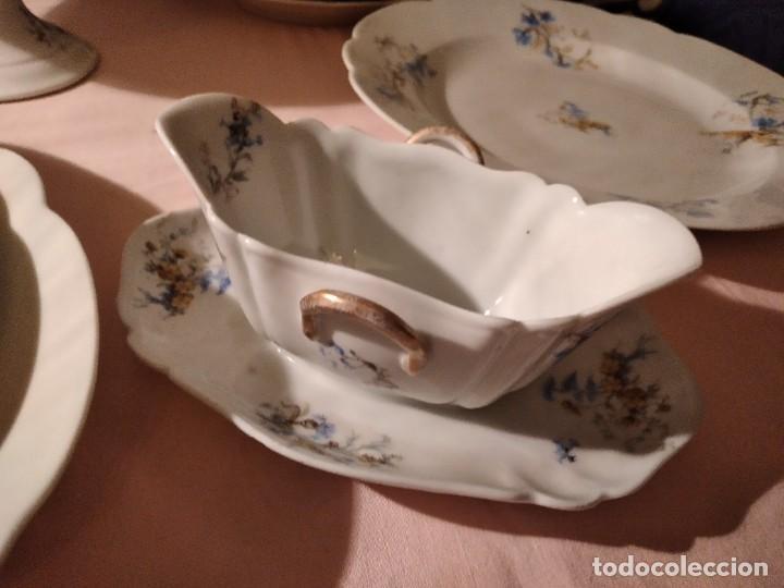 Antigüedades: exquisita VAJILLA DE porcelana Adolphe Hache & Cª V FRANCE 2ª MITAD DEL SIGLO XIX,38 piezas - Foto 10 - 236596115