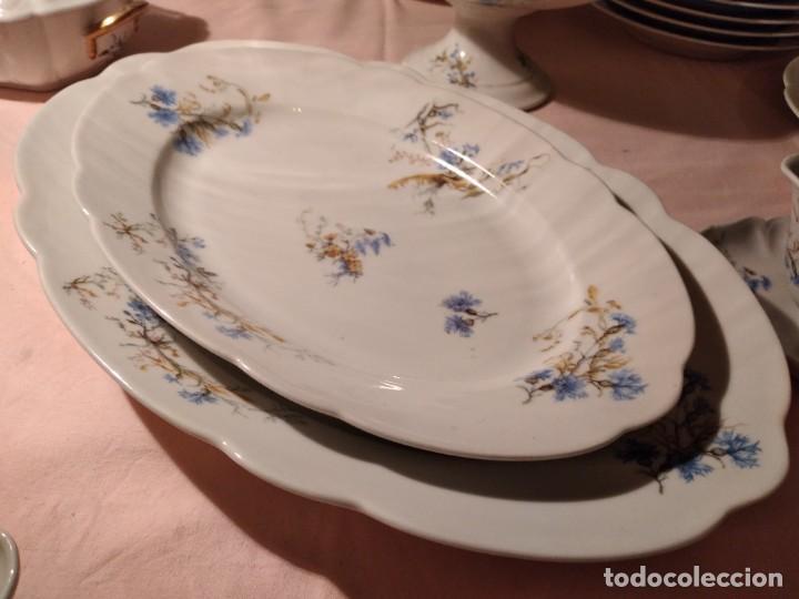 Antigüedades: exquisita VAJILLA DE porcelana Adolphe Hache & Cª V FRANCE 2ª MITAD DEL SIGLO XIX,38 piezas - Foto 11 - 236596115