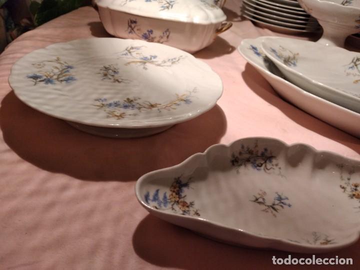 Antigüedades: exquisita VAJILLA DE porcelana Adolphe Hache & Cª V FRANCE 2ª MITAD DEL SIGLO XIX,38 piezas - Foto 13 - 236596115