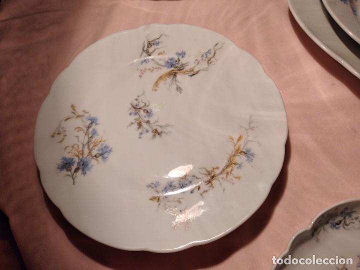 Antigüedades: exquisita VAJILLA DE porcelana Adolphe Hache & Cª V FRANCE 2ª MITAD DEL SIGLO XIX,38 piezas - Foto 14 - 236596115